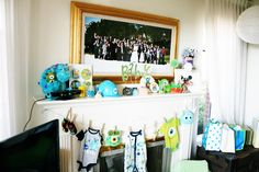 Monsters Inc. Themed Baby Shower | Magical Day Parties | A Fan Site  Celebrating Disney