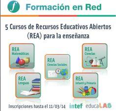 Recursos Educativos Abiertos para la enseñanza: búsqueda, creación y puesta en común de recursos a través de cinco cursos en línea para la formación de profesores.