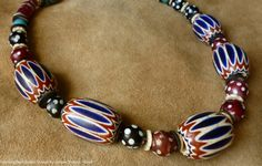 I'm in love with old and antique chevrons. MorningDoveDesign made some into a stunning necklace! Antique fine condition African 5 layer by MorningDoveDesign, $495.00