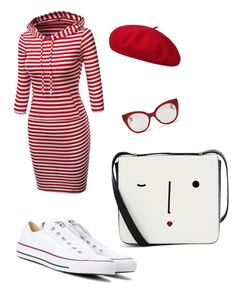 """Untitled #14"" by elena-dogaru on Polyvore featuring beauty, Converse, Lulu Guinness and Miu Miu"