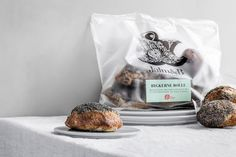 """Danish consultancy Kontrapunkt has designed the branding and packaging for new frozen bakery goods brand Jalm&B, aiming to """"combine frozen food with fine craftsmanship. Bakery Branding, Food Branding, Food Packaging, Brand Packaging, Branding Design, Innovation News, Creativity And Innovation, Danish Bakery, Packaging Solutions"""