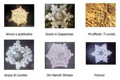 Cristalli d'acqua di Masaru Emoto