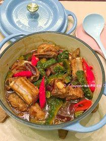 鬼嫁料理手帳: 醬油麴涼瓜炆肉排 (附食譜)