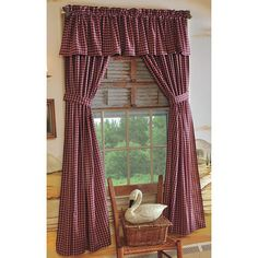 Image detail for -BJ's Country Charm, Primitive Curtains, Homespun Curtains, Country ...