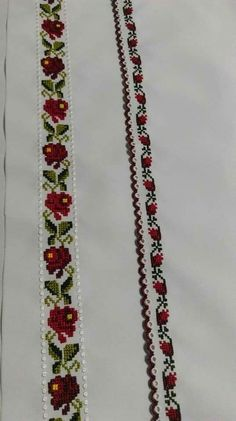 Cross Stitch Floss, Cross Stitch Borders, Cross Stitch Designs, Cross Stitch Patterns, Floral Tie, Traditional, Embroidery, Sewing, Knitting