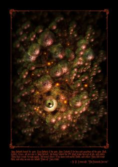 Yog-Sothoth by *jasonjuta on deviantART