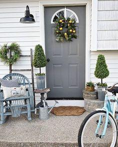 sweet spring porch