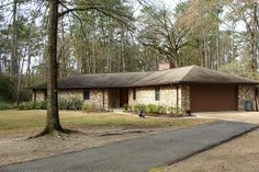 One story 3/2/2 home on 1.23 acres. Private wooded cul-de-sac lot.