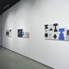 Install shot from 3x3, FORM/SPACE at gallery Zdes na Taganke (at Галерея Здесь На Таганке)