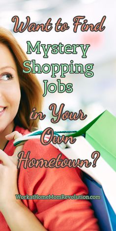 Want to Find Mystery  Shopping Jobs in Your  Own  Hometown? Shadow Shopper matches you with mystery shops in your own city! Mystery shopping is a great home-based extra money opportunity for moms! WorkatHomeMomRevolution.com
