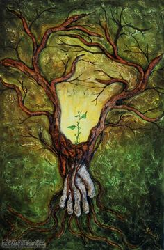 Original Large Sculptural Tree Of Life