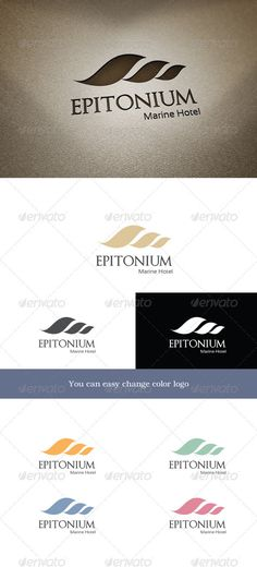 Epitonium  #GraphicRiver        Epitonium 	 Logo is designed in the form of a seashell. It symbolizes the wave, shell, sea, ocean, tourism, beach, resort. Ideal for travel agencies or hotels.  	 You can easy change color for logo.  Feature   Ai, Eps, PSD , Transparent PNG  Help file   	 Font used: Optimus Princeps –  .dafont /optimusprinceps.font  	 sansation –  .dafont /sansation.font  Unique Logos   Badges       Created: 27November12 GraphicsFilesIncluded: PhotoshopPSD #TransparentPNG…