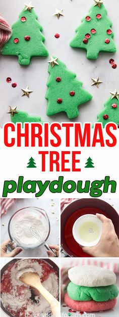 christmas activities Christmas Playdough - turn your Christmas scented playdough into Christmas Trees! This is a fun sensory activity for kids including toddlers, preschoolers or kindergarten children. Kids will love the smell of this Christmas playdough. Christmas Activities For Toddlers, Christmas Trees For Kids, Childrens Christmas, Toddler Christmas, Christmas Fun, Winter Activities, Christmas Ornaments, Christmas Scents, Xmas Crafts