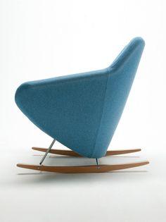Rocking #armchair TAXIDO by @socialsegis  | #design Carlo Bimbi