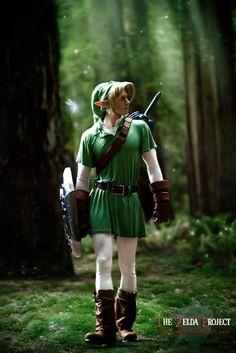 Link cosplay...hello handsome(: