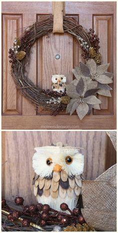 Pets 4 Hiboux Oiseau Key Holder Support Mural Crochets Boutique De Conservation Stockage Hanging