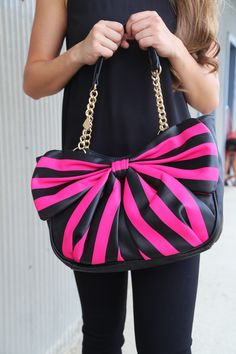 Betsey Johnson Bow Tails Satchel