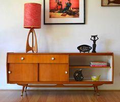 Mid-Century Modern Freak | Danish modern quality crafted open back Queensland...