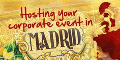 Corporate Event Madrid   Help Organising Event Madrid   Hosting Event Spain