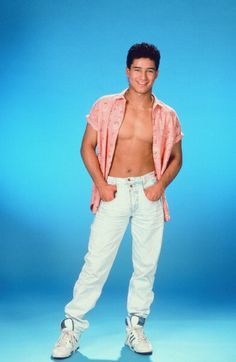 Mario Lopez was the other hot one on Saved by the Bell, starring A.C. Slater