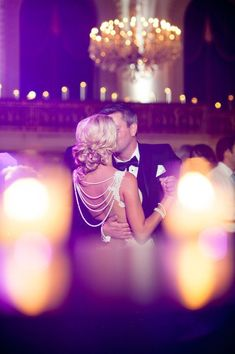 Wedding photographer captures a special moment at this black tie affair