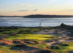 #Chambers Bay Golf Course: should be a good test for the US Open if the wind blows
