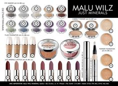 JUST MINERALS are available at MALU WILZ ROMANIA! MALU WILZ Products are manufactured in Germany! www.maluwilz.ro