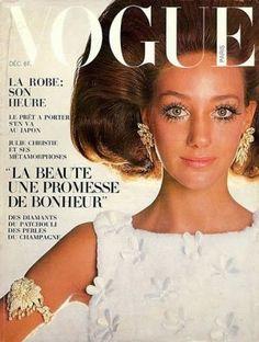 Marisa Berenson on the cover of Vogue Paris, 1969