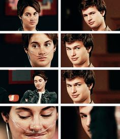 """""""I enjoy looking at beautiful people and I decided a while ago not to deny myself the simpler pleasures of existence."""" - Augustus Waters"""