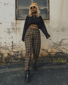 Rocker Chic Outfit, Rocker Chic Style, Edgy Style, Dark Fashion, Fashion 2020, Autumn Fashion, Casual Fall Outfits, Cute Outfits, Estilo Dark