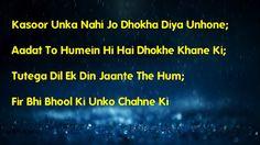Shayari Hi Shayari: Aadat To Humein Hi Hai Dhokhe Khane