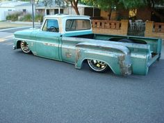 Dinos Custom C10 Truck - 1964 Dually all laid out