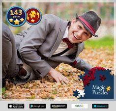 Acabo de resolver este puzle en la aplicación Puzles mágicos para iPad. ¡Tienes que probarla!