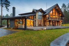 Дома из бруса: готовые проекты и 70+ надежных и комфортных реализаций http://happymodern.ru/doma-iz-brusa-proekty-foto-i-ceny/ Doma_iz_brusa_43