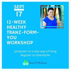 Our 12-Week Healthy Tranz-Form-You Workshop is THIS SATURDAY! We cant wait to begin an amazing journey with our group! We want to help #motivate you to a new level of #wellness! Register for this group and receive a customized meal plan weekly weigh-ins and B-12 injections sessions with both our #healthcoach and #reiki master and MUCH MORE!  For more information and to sign up click the link in our bio!  #threedwellness #roswellga #alpharetta #monday #detox #diet #b12 #juicing #meditation…