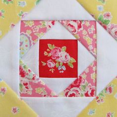 Farmer's Wife Quilt Along Week 47 - Pretty by Hand -