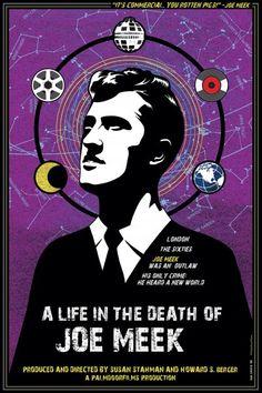 A life in the death of Joe Meek by Iker Spozio Past Life Memories, I Believe In Love, Best Documentaries, Death, Movie Posters, Film Poster, Illustration, Documentary Film, Design