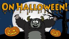 Halloween song for kids | The Singing Walrus