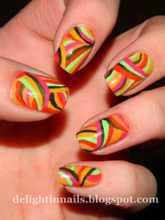 Delight in Nails: Sat-Art-Day Club: 1960s!
