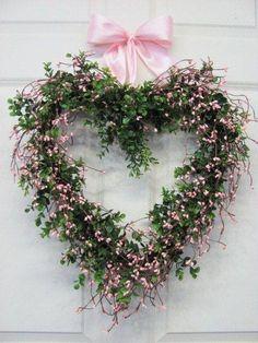 Pretty Springtime Wreath by Oh So ShAbBy By Debbie Reynolds