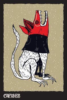 ¡El Caifán mayor! HH_SANER_CAIFANES | Poster | México | Ilustración | Illustration | Saner