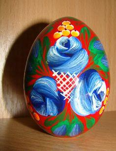 wooden decorative egg, Russia