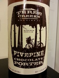 Fivepine Chocolate Porter - Three Creeks Brewing Co.