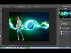 ▶ tutorial fotomontajes, recorte profesional y cambiar fondo en photoshop cs6 - YouTube