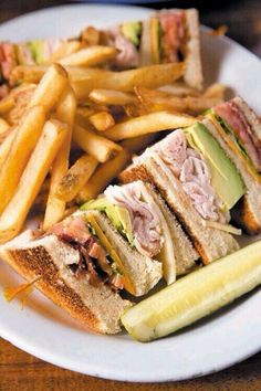 Chicken Sandwich and French Fries