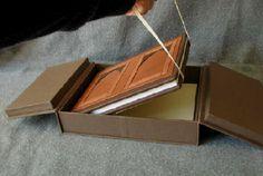 """fineblankbooks.com - Heirloom Family Furniture History Book with Custom Box"""