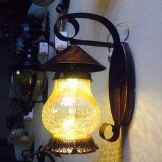 Fer appliques murales chevet chambre lampe de bougie blanche ampoule