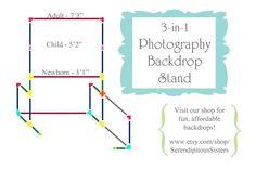 estructura PVC barata para photocall