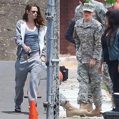 kristen stewart XRAY | Kristen Stewart Set Pictures From Camp X-Ray