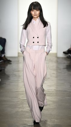 Pink | Marissa Webb Fall/Winter 2015 This fall, we're seeing pink (again!). via @stylelist | http://aol.it/18eulUf